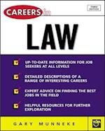 Careers in Law (McGraw Hill Professional Careers Paperback)