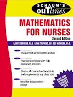 Schaum's Outline of Mathematics for Nurses (Schaum's Outline Series)