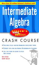 Schaum's Easy Outline Intermediate Algebra (Schaum S)