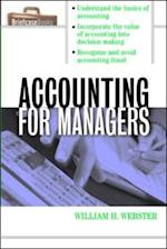 Accounting for Managers af William Webster