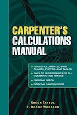 Carpenter's Calculations Manual