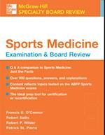 Sports Medicine: McGraw-Hill Examination and Board Review