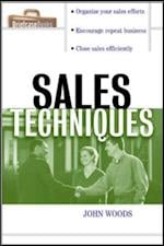 Sales Techniques af Bill Brooks