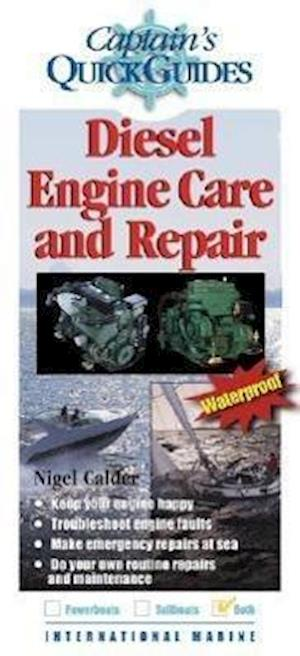 Bog, paperback Diesel Engine Care and Repair af Nigel Calder