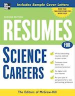 Resumes for Science Careers (McGraw Hill Professional Resumes)