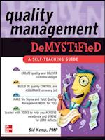 Quality Management Demystified (Demystified)