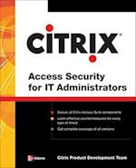 Citrix(r) Access Suite Security for It Administrators