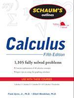 Schaum's Outline of Calculus, 5ed (Schaum's Outline Series)