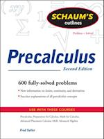 Schaum's Outline of PreCalculus, 2nd Ed. (Schaum's Outline Series)