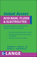 LANGE Instant Access Acid-Base, Fluids, and Electrolytes (Lange Instant Access)