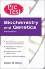 Biochemistry and Genetics PreTest  Self-Assessment and Review, Third Edition (Pretest)