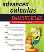 Advanced Calculus Demystified (Demystified)