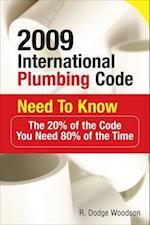 2009 International Plumbing Code Need to Know (International Plumbing Code Need to Know)