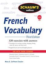 Schaum's Outline of French Vocabulary, 3ed (Schaum's Outline Series)