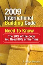 2009 International Building Code Need to Know (International Building Code Need to Know)