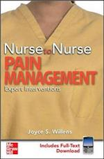 Nurse to Nurse Pain Management (Nurse to Nurse)