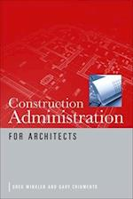 Construction Administration for Architects (PL Custom Scoring Survey)