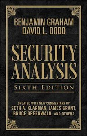 Bog hardback Security Analysis: Sixth Edition Foreword by Warren Buffett (Limited Leatherbound Edition) af Seth A Klarman Warren Buffett Benjamin Graham