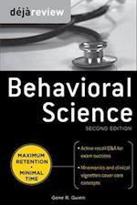 Deja Review Behavioral Science (Deja Review)