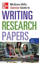McGraw-Hill's Concise Guide to Writing Research Papers (Perfect Phrases Series)
