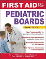 First Aid for the Pediatric Boards, Second Edition af Kimberly Le, Wilbur, Alan