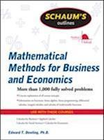 Schaum's Outline of Mathematical Methods for Business and Economics (Schaum's Outline Series)