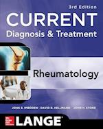 Current Diagnosis & Treatment in Rheumatology (Lange Current)
