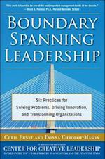 Boundary Spanning Leadership: Six Practices for Solving Problems, Driving Innovation, and Transforming Organizations (Management & leadership)