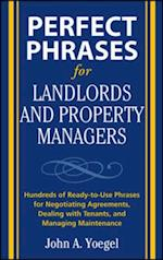 Perfect Phrases for Landlords and Property Managers (Perfect Phrases Series)