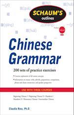Schaum's Outline of Chinese Grammar (Schaum's Outline Series)