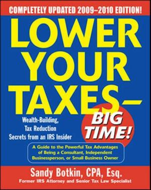 Lower Your Taxes - Big Time! 2009-2010 Edition af Sandy Botkin