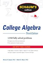 Schaum's Outline of College Algebra, Third Edition (Schaum's Outline Series)