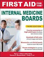 First Aid for the Internal Medicine Boards (First Aid Series)