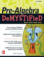 Pre-Algebra DeMYSTiFieD, Second Edition (Demystified)