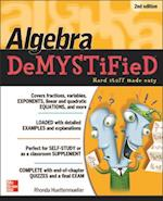 Algebra DeMYSTiFieD, Second Edition (Demystified)