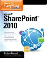 How to Do Everything Microsoft SharePoint 2010 (How to Do Everything)