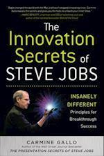 Innovation Secrets of Steve Jobs: Insanely Different Principles for Breakthrough Success