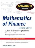 Schaum's Outline of  Mathematics of Finance, Second Edition af Robert Brown, Petr Zima