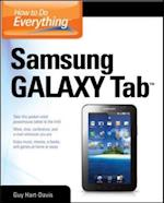 How to Do Everything Samsung Galaxy Tab (How to Do Everything)