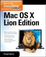 How to Do Everything Mac OS X Lion Edition (How to Do Everything)