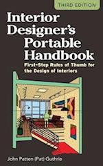 Interior Designers Portable Handbook: First-Step Rules of Thumb for the Design of Interiors (PL Custom Scoring Survey)