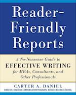 Reader-Friendly Reports