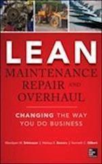 Lean Maintenance Repair and Overhaul (Mechanical Engineering)