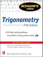 Schaum's Outline of Trigonometry, 5th Edition (Schaum's Outline Series)