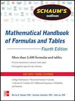 Schaum's Outline of Mathematical Handbook of Formulas and Tables (Schaum's Outline Series)