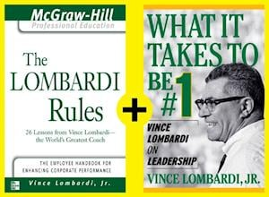 Lombardi - Rules and Lessons on What It Takes to Be #1 (EBOOK BUNDLE) af Vince Lombardi