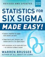 Statistics for Six Sigma Made Easy! Revised and Expanded Second Edition (General Finance Investing)
