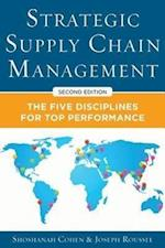 Strategic Supply Chain Management 2/E