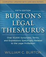 Burton's Legal Thesaurus af William Burton