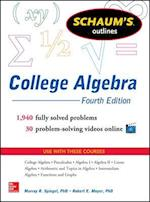 Schaum's Outline of College Algebra (Schaum's Outline Series)